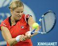 组图:克里斯特尔斯胜小威晋级美网女单决赛
