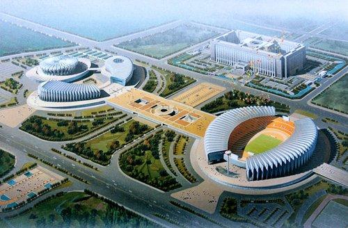 全运场馆——济南奥体中心