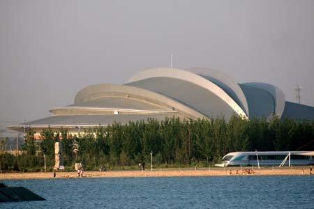 全运场馆之——滨州市体育馆