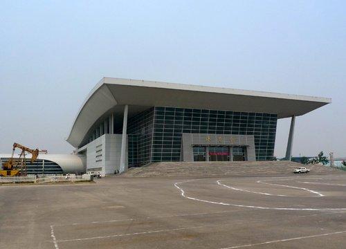 全运场馆之——中国石油大学体育馆