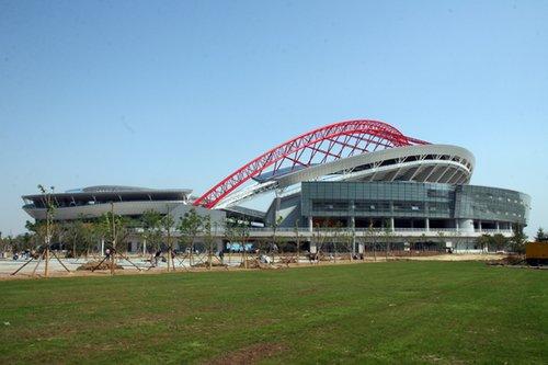 全运场馆之——淄博市体育中心