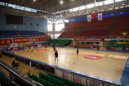 全运场馆之——临沂市体育馆