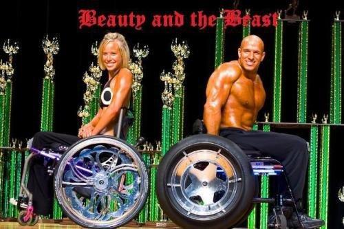 轮椅:美国截瘫健美舞龙男子组图传奇_图片站过春节时为什么要谱写图片