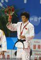 组图:女子柔道52公斤级决赛 冼东妹夺冠