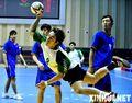 组图:全运会男子手球赛况 香港澳门双双落败
