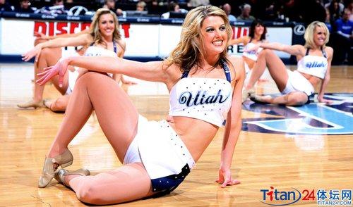 拉拉队nba篮球宝贝美国女郎爵士拉拉队爵士啦啦队