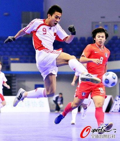五人制国足不恐韩 中国5-4险胜韩国进半决赛
