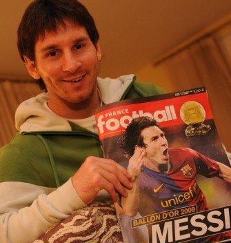 2009年金球奖揭晓 梅西超C罗创纪录获奖