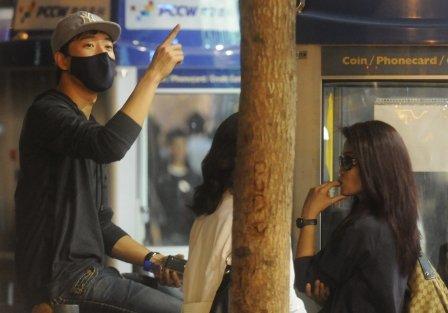 啊啊啊啊 为什么为什么 刘翔和冬日娜逛街 这么