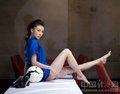 巩新亮世界杯写真 被誉为最美足球宝贝(组图)