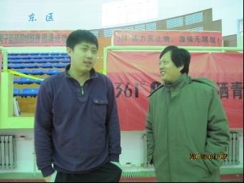 辽宁大学总教练刘欣然专访
