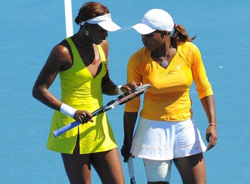 澳网女双展开第一轮争夺 诸位前冠军携手晋级