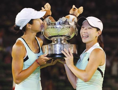1月27堪称中国网球日 双打称霸4年后再创历史