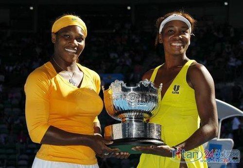 威氏卫冕澳网女双早有先兆 11进大满贯决赛均夺冠