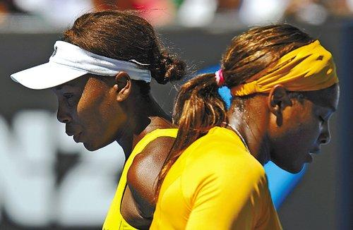 大小威击败世界头号组合 成功夺澳网女双桂冠