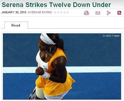WTA官网:决赛盛况十年未遇 残酷对决如战争