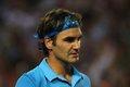 图文:澳网决赛费德勒PK穆雷 费德勒眼神深邃
