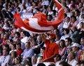图文:澳网决赛费德勒PK穆雷 球迷助威费天王