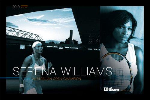 真正的冠军,不断的继承 小威斩获澳网双冠