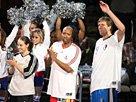 组图:得州队获投篮之星冠军 三人享受欢呼声