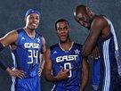 组图:NBA全明星队服照 凯尔特人三人入选