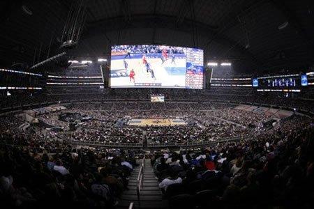 现场:108713球迷观战破纪录 NBA再缔造传奇