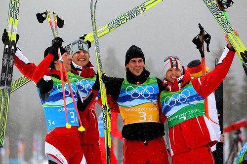 北欧两项男子团体赛奥地利卫冕 美德分列二三