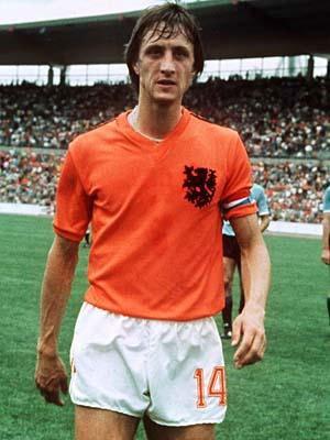 世界杯百大球星之三 荷兰飞人 无冕之王克鲁伊夫