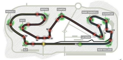 F1赛道简介——西班牙加泰罗尼亚赛道