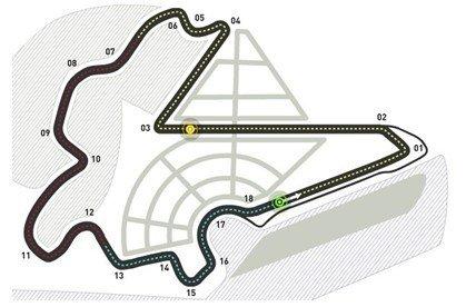 F1赛道介绍——韩国Yeongam赛道