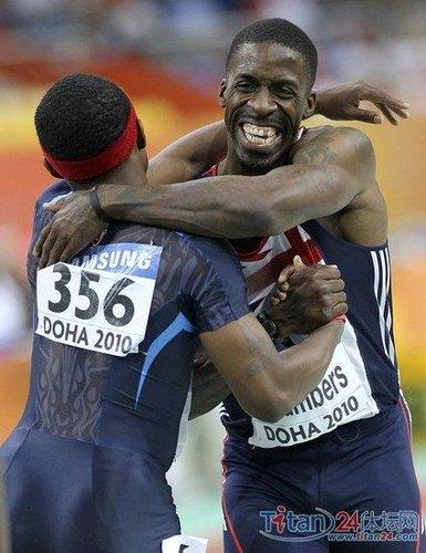 钱伯斯室内赛60米夺冠 英药王创年度最好成绩