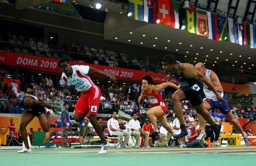 室内世锦赛刘翔7秒65获第7 罗伯斯破纪录夺冠