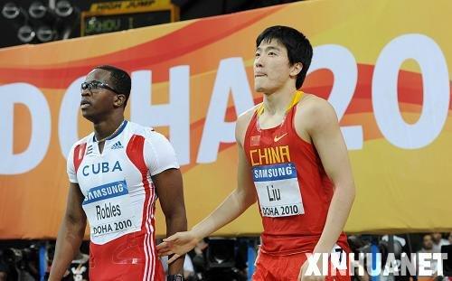 罗伯斯: 刘翔永远是我的偶像 他一定在隐藏实力