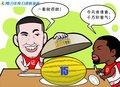 漫画:小布请客吃甜瓜 火箭险胜掘金继续进军