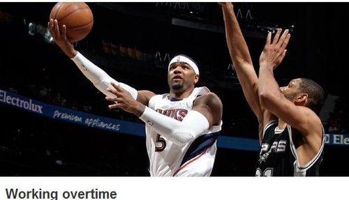 NBA官网截图