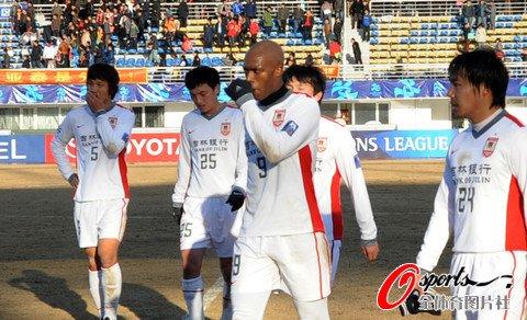 亚泰1-2遭全北逆转 杜震宇进球无奈抗韩首败