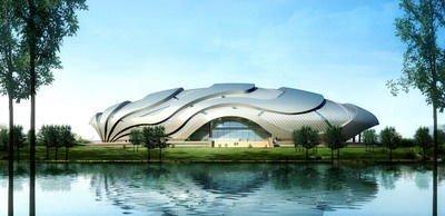 亚运新建场馆之广州自行车轮滑极限运动中心