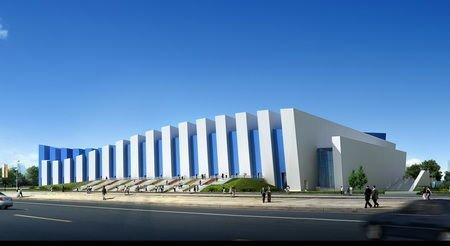 亚运新建场馆之广东奥体中心游泳跳水馆