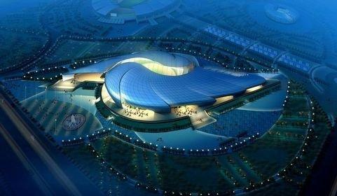 亚运新建场馆之南沙体育馆