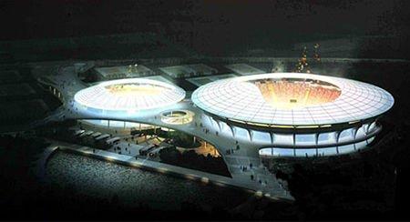 亚运新建场馆之广州亚运会网球馆中心