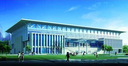 亚运新建场馆之广州体育学院体育馆