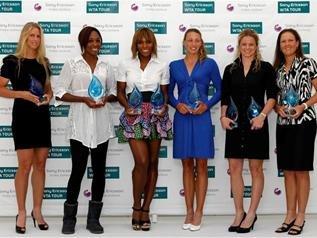 WTA2009年度大奖出炉 小威获第三次年度最佳