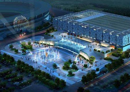 亚运新建场馆之黄埔体育中心体育馆