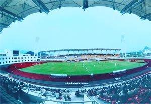 广州亚运会改造场馆之黄埔体育中心