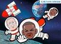 漫画:火箭不敌快船遭连败 游离太空希望无存