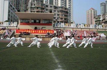 广州亚运会改造场馆之宝岗体育场