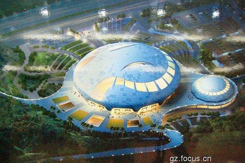 广州亚运会改造场馆之花都区新体育馆