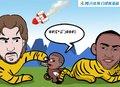 漫画:老虎发威猴子遭殃 火箭主场遭湖人羞辱