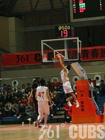 361°CUBS第十一轮:南财大主场战胜华中科大