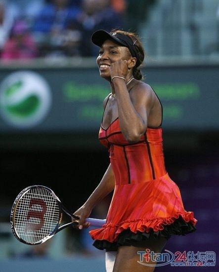 迈阿密网球赛大威逆转淘汰汉图楚娃 晋级八强